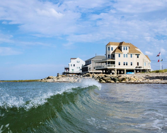 In The Water At Egypt Beach Scituate Massachusetts Beach Etsy