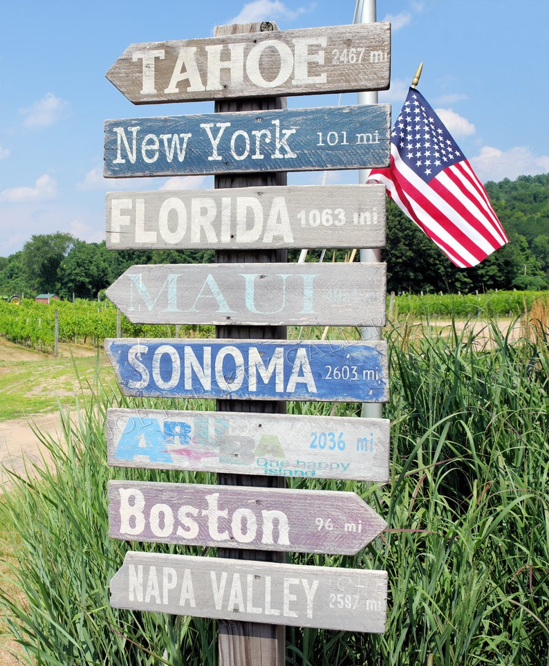 Way signs Rosedale Farm Vineyards Simsbury Connecticut image 0