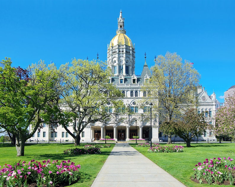 Springtime beauty Connecticut State Capitol Building image 0