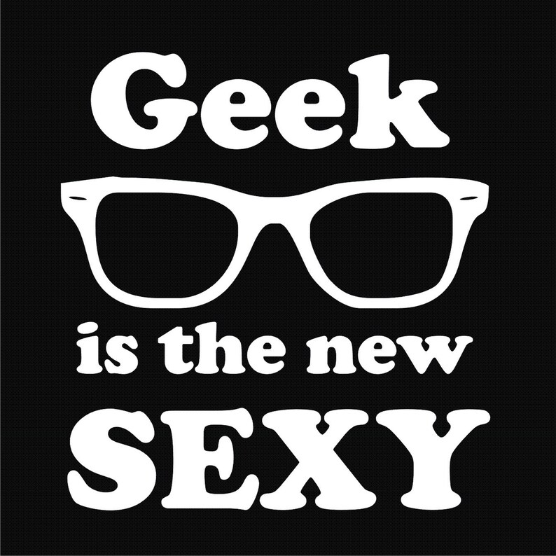 778538e1a Geek Tee Nerd Tee Science Shirt Sexy Geek Funny Geek   Etsy