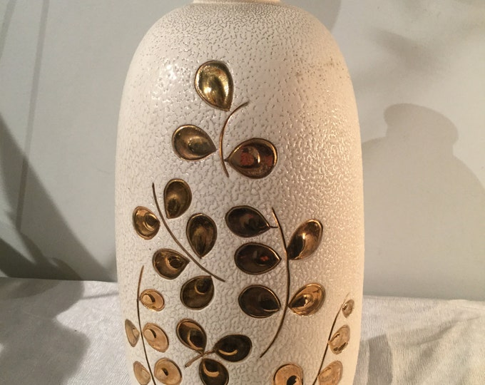 Ca.1930s Saints Radegonde Touraine, France 13 inches Height Vase