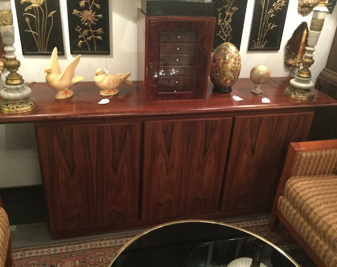 Ca. 1970s Rasmus signed Rosewood Sideboard/Credenza