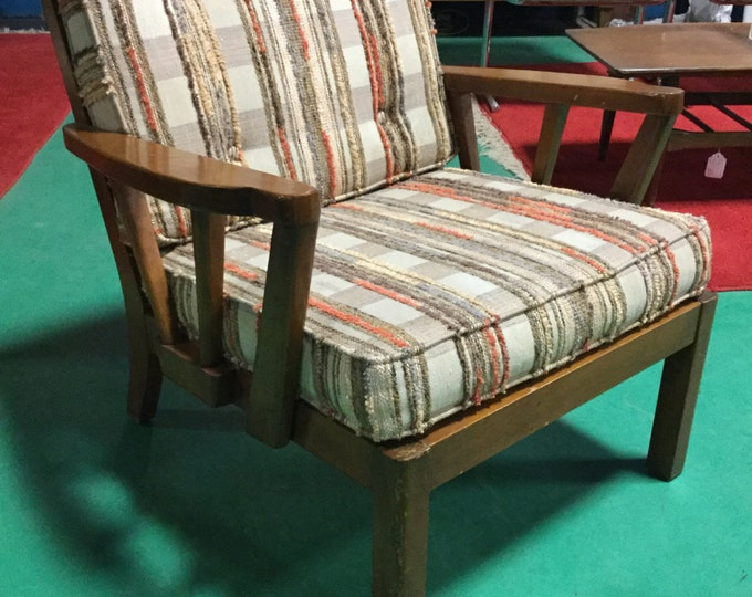 SOLD: Mid Century Solid Cherry Side Chair