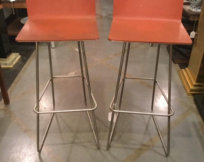 Prototype Pair of 29 inches Height Counter Stools