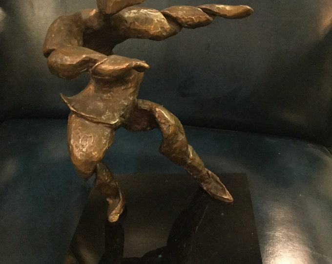 Bronze Dancer on rotating Base Signed SIP