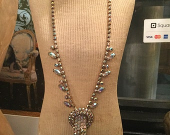 Ca. 1930s Mazer Swarovski Crystal Necklace