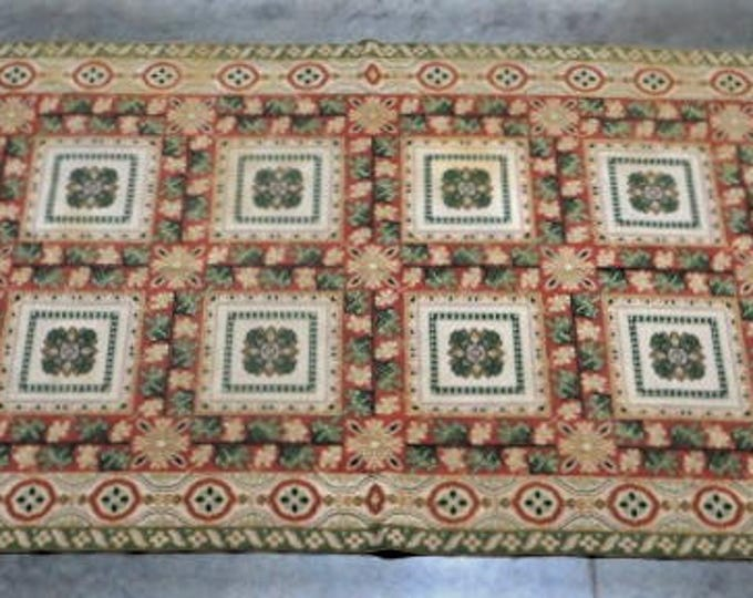 SOLD:French Hook Rug in Wool