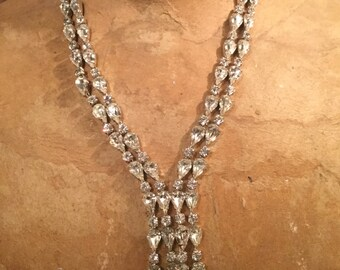 SOLD: Ca. 1930s Fenichel Swarovski Necklace