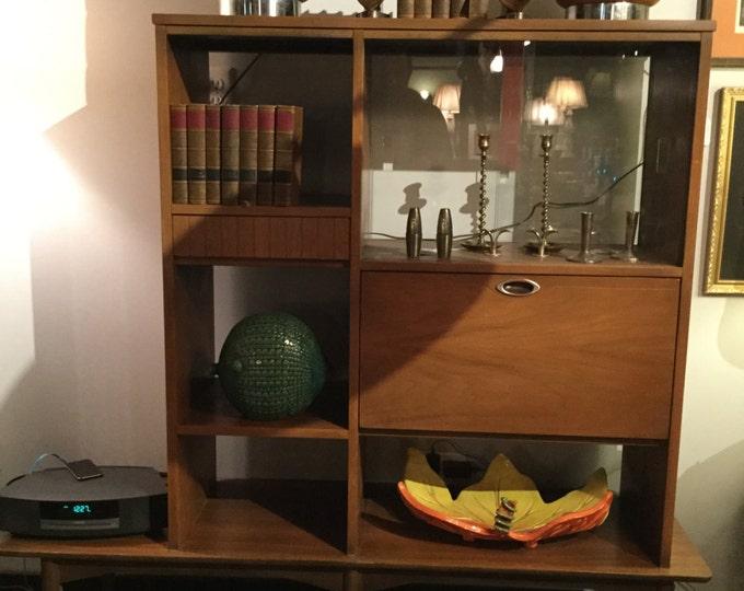 Mid Century Mini Bar Room Divider