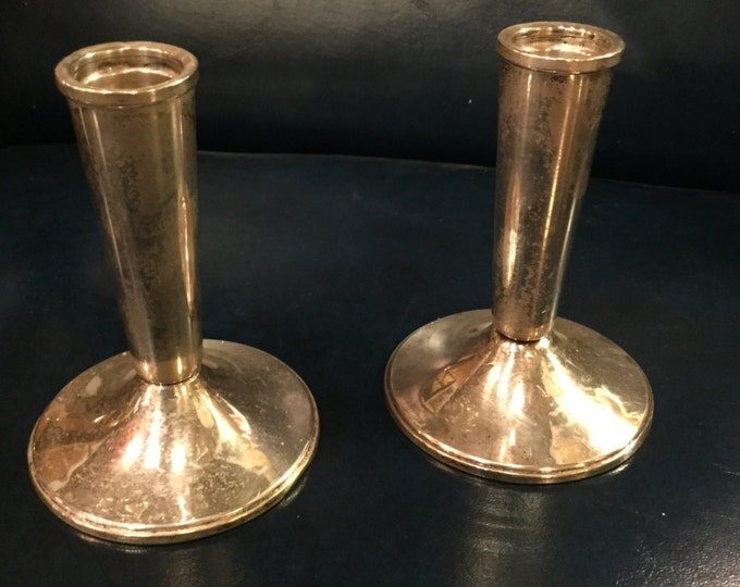 Pair of Sterling Candlesticks by Duchin Creations