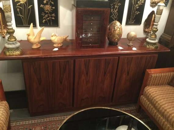 SOLD - Ca. 1970s Rasmus signed Rosewood Sideboard/Credenza