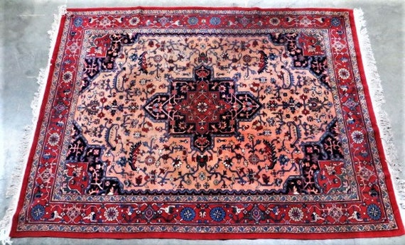 SOLD: A Kashan Persian Rug from the 1910s