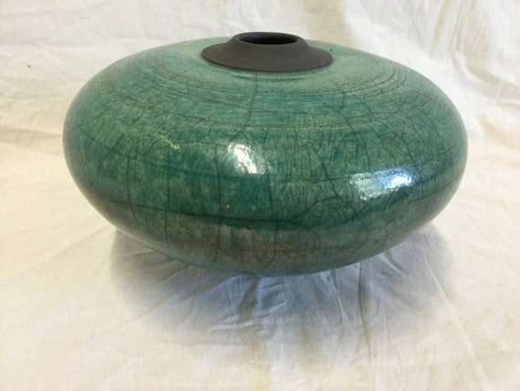 Raku Pottery by S. Tully