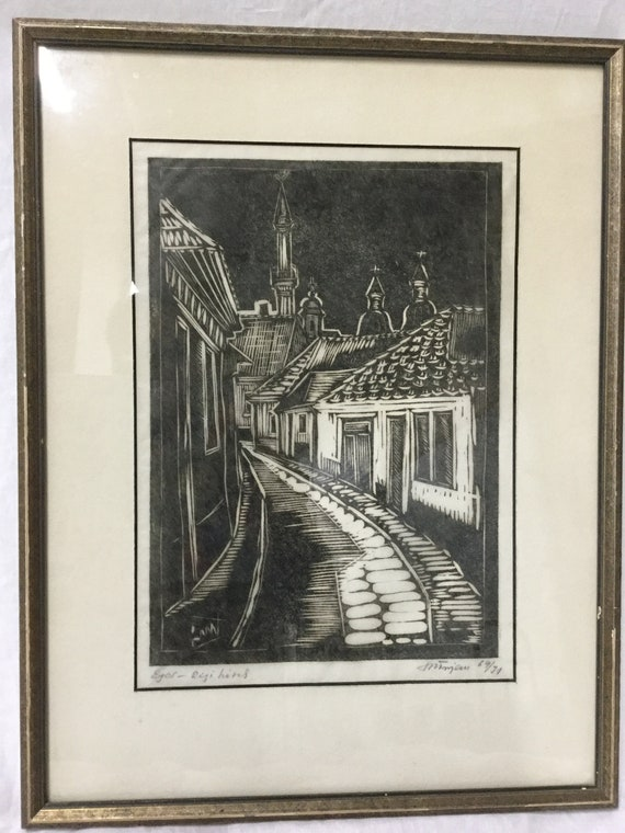 Jacob Steinhardt (1887-1968) Early woodblock
