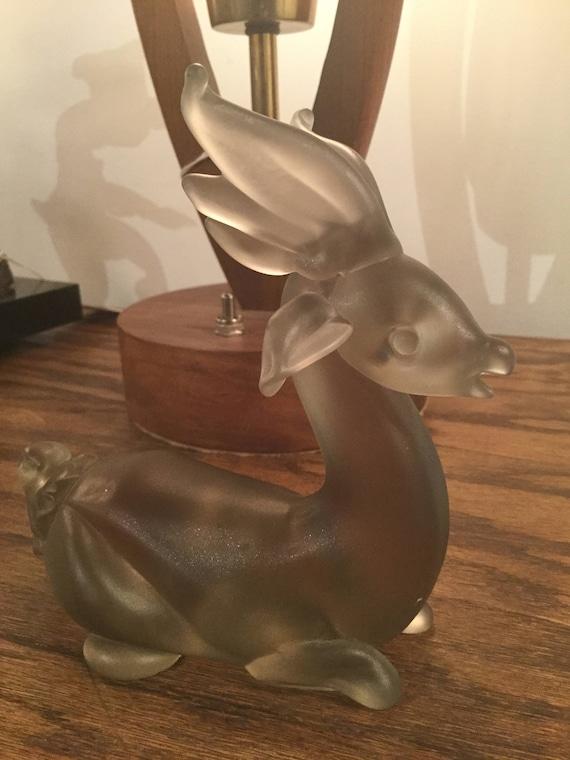 SOLD - Ca. 1960s Murano Vetri, Cenedese Deer Paperweight
