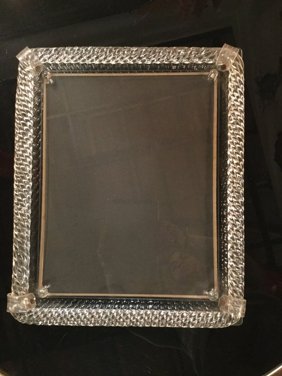 Barovier & Toso  Murano Picture Frame