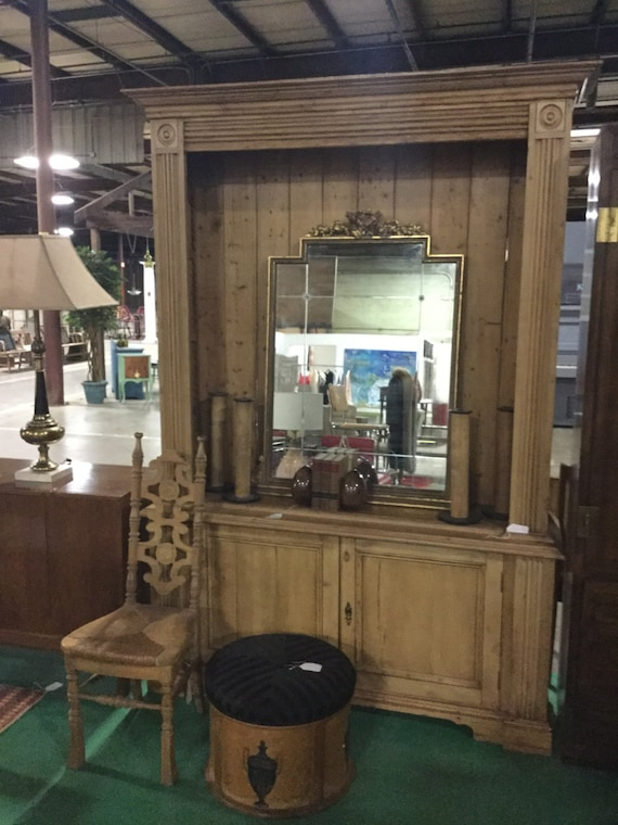 SOLD: Early 20th c. Pine Cabinet