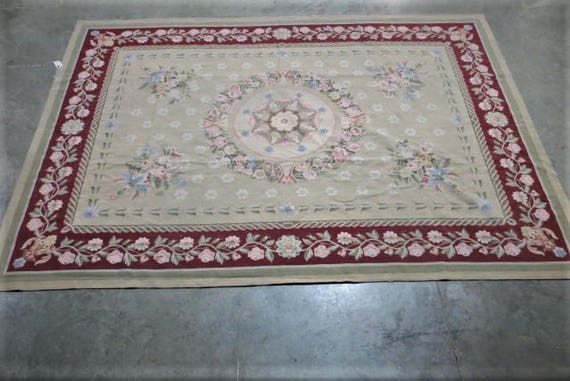 SOLD - French Aubusson Rug
