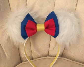 Absolutely Adorable Donald Duck inspired Mouse Ears!