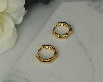 e894bfe5d51a2 Gold earrings hoop | Etsy