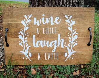Wine & Coffee Lovers Tray