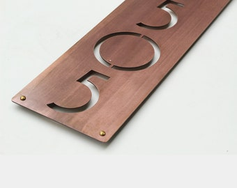 Beach House Numbers Etsy