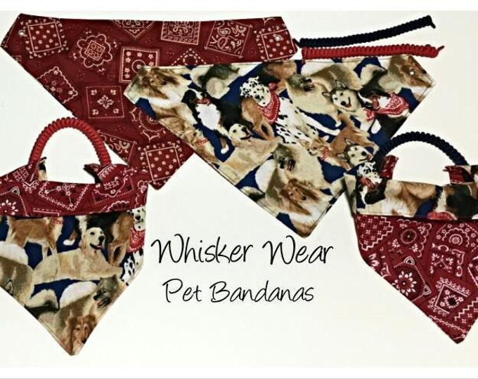 canine corner dog breeds, reversible dog scarf, dog bandana, pet scarf, pet bandana, pet attire, pet clothing, reversible, pug, dogs
