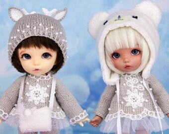Deer Set and White Bear Set. Outfits for pukifee, lati yellow