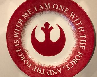 Star Wars Rogue One Rebel Plate