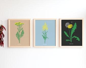 Print Trio - The (good) bad weeds