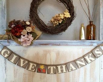 Give Thanks Banner,Give Thanks Sign,Give Thanks,Give Thanks Photo Prop,Fall Banner,Thanksgiving Banner,Thanksgiving Decor,Fall Banner