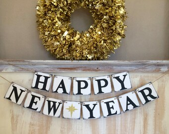 happy new year bannernew year bannerhappy new year garlandnew years eve bannerhappy new year decornew year propnew year decoration
