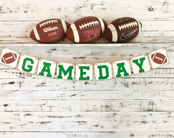 Game Day Banner,Game Day,Game Day Sign,Football Banner,Tailgating Party Decoration,Football Party Decoration,Football Decor,Tailgating Decor