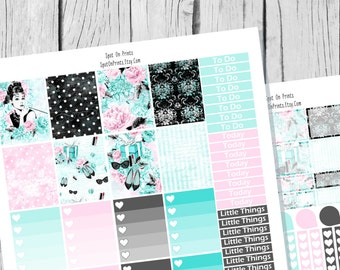 Glam || Planner Sticker Printable / Sticker Printable / Printable Planner Stickers / Weekly Planner Sticker Kit