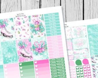Winter Dreams Planner Sticker Happy Planner Printable / Happy Planner Sticker Printable / Printable Planner Stickers