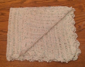 Light weight baby afghan