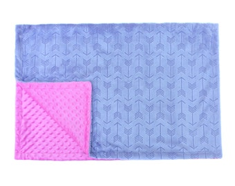 Baby Blanket | Toddler Blanket | Minky Fabric