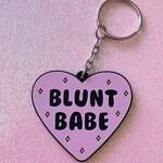 """Blunt Babe 2"""" Keychain / Stoner Gift / Stoner Keychain"""