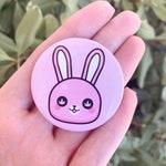 "Stoner Bunny Button 1.75"", Stoner Gift"