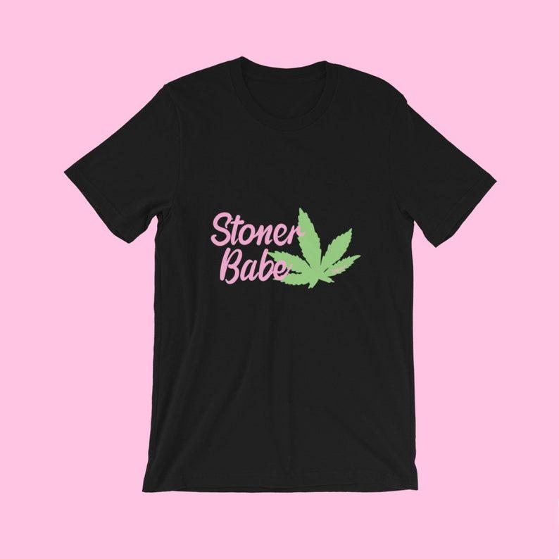 Stoner Babe Short-Sleeve Unisex T-Shirt image 0