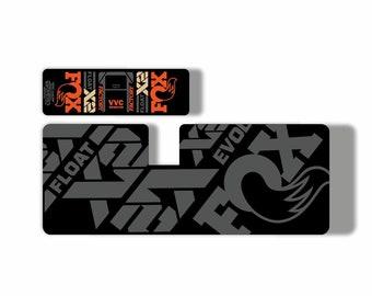 Lights FOX DPS Float EVOL Performance 2018 Rear Shock Sticker Factory Decal N
