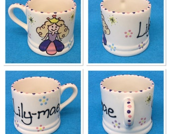 Personalised Princess Mug