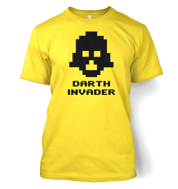 Darth Invader T-shirt, many colours - S to 3XL