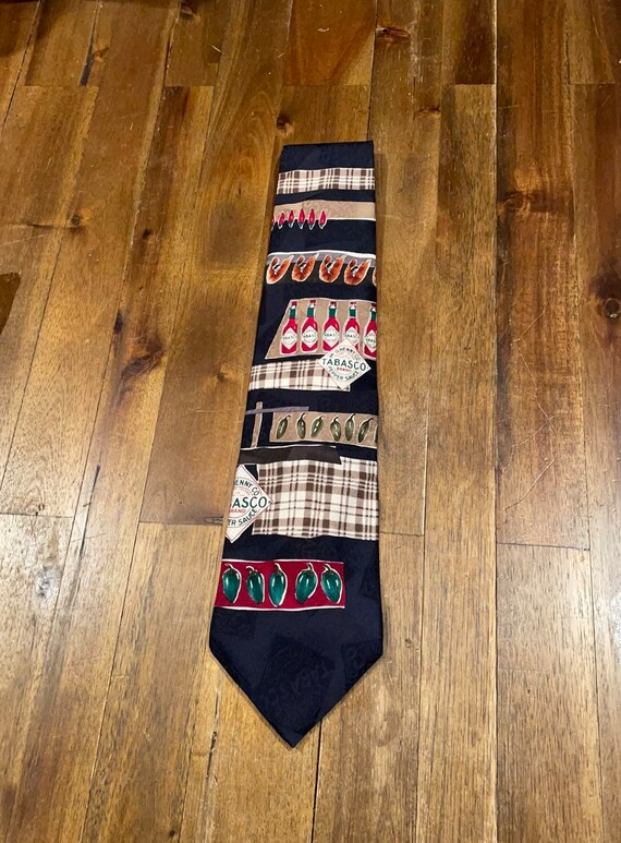 Vintage Tabasco tie