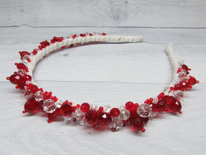 Crown crystal hair Bridal shower gift Wedding crown Bridal image 0