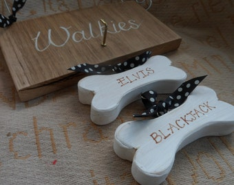 Personalised Dog lead hanger sign Pet lover sign  Time for Walkies sign Dog lead hook plaque  These paws were made for walkies  sign plaque