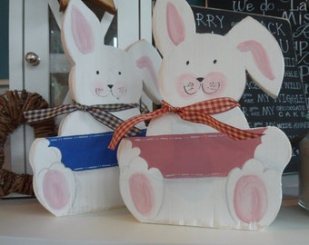 Custom made 1st Birthday sign. Personalised Baby Rabbit decor, Gifts for Christening Baby shower ideas, Newborn gifts Easter Bunny gift idea