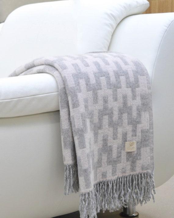 Bedspread Indian New Blanket Plaid Throw Blanket 100/% Merino Wool