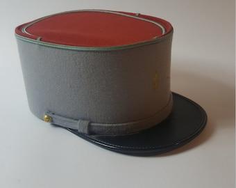 34999cc231184 A Wonderful Vintage Foreign Legionnaire s Kepi Hat Cap in Excellent  Condition.