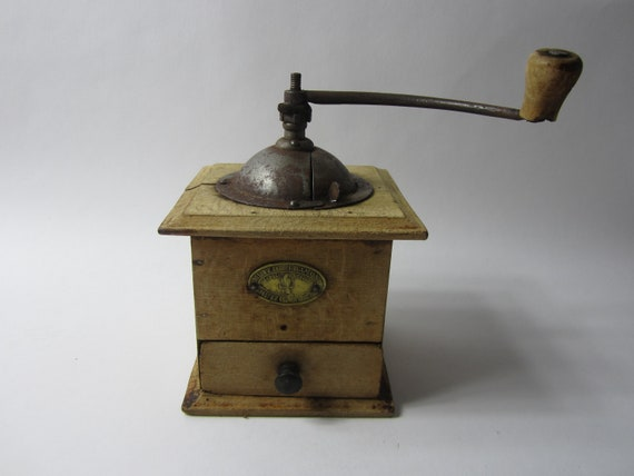 Made in France A Stunning Antique Mutzig French Coffee GrinderCoffee Maker